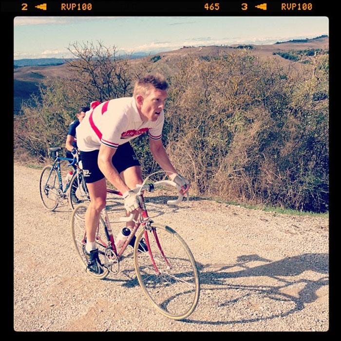 Brad Nightingale at L'Eroica