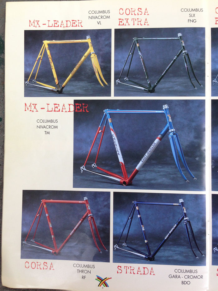 Eddy Merckx Catalogue