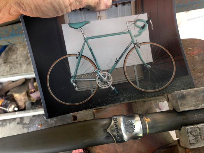 Comparison of the original X4 Bianchi with our version