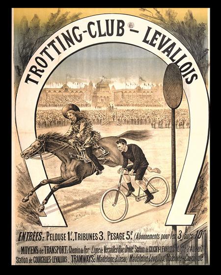 Racetrack Trotting Club Levallois - SF Cody Jr., Wild West Cowboy against Meyer.