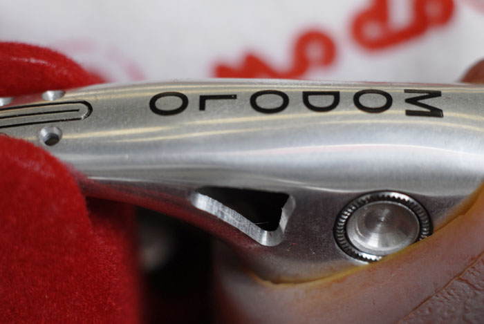 Modolo Professional brake lever in silver
