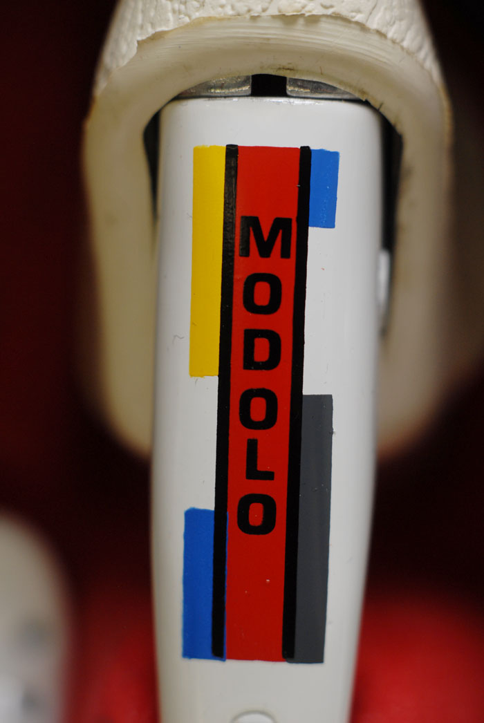Modolo Speedy, Piet Mondrian, La vie Claire graphics
