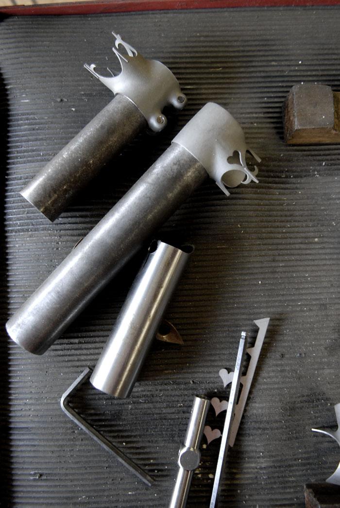 Llewellyn custom lugs designed by Darrell McCulloch