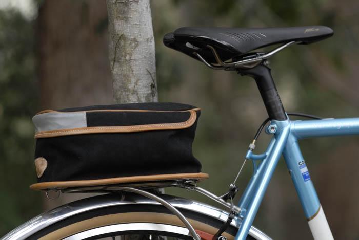 Llewellyn Custom Bikes custom rear bike rack