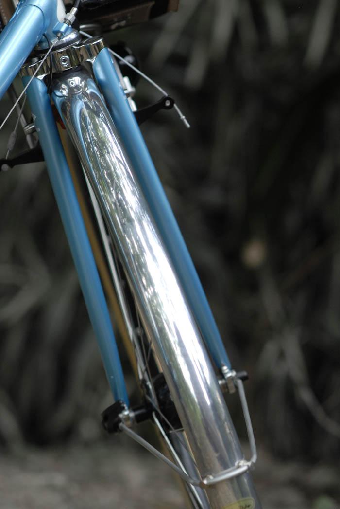 Honjo alloy front fender