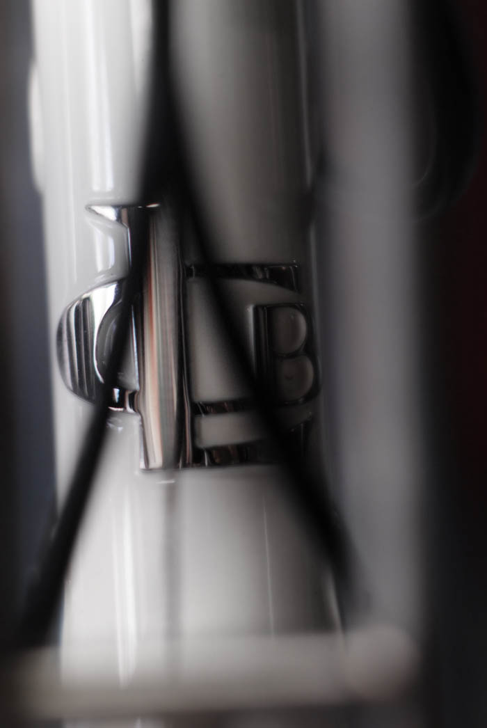 Llewellyn custom bicycle head badge