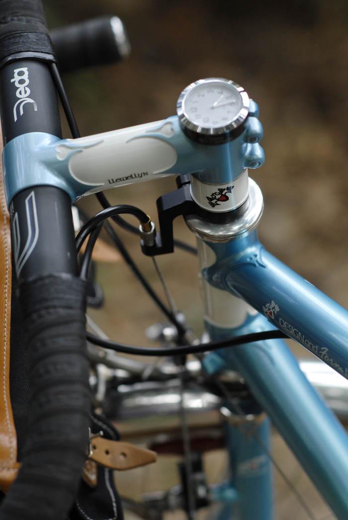 Stem captain bike time piece
