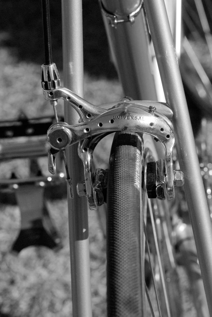 Malvern Star track bike originally raced by a local Toowoomba rider when it was new