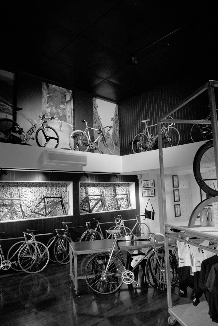 Crankstar bike studio - plenty of coffee served up here