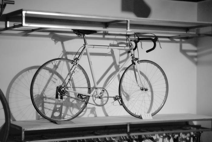 Professional road racing bike 1946, the Stucchi