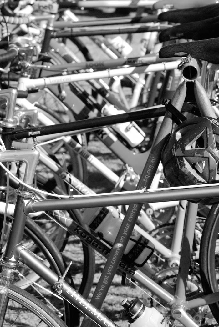 Hillman road bike.