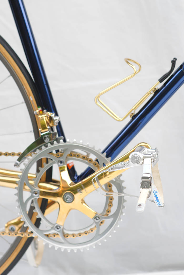 ICS Design bicycle with Campagnolo Corsa Record 2nd gen components.