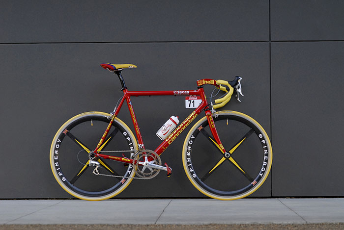 Cipollini Saeco Cannondale Caad 4, build by Adam Pelzer
