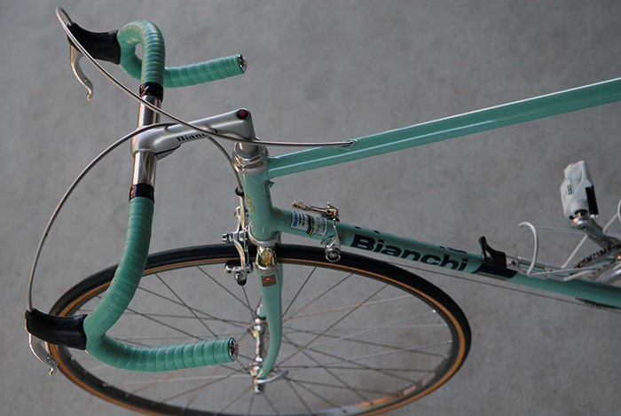 1987 styled replica Bianchi Reparto Corse team bike