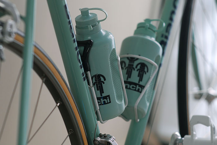 Reg water bottle cages, alternatively Cobra and the French company TA Specialties all produced these lightweight race proven, dependable cages.