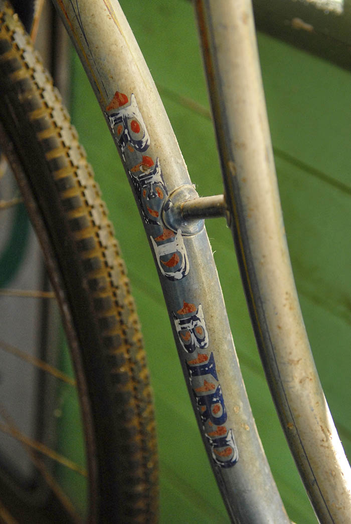 Hand painted Red Bird  bicycle frame. No bicycle decals required.