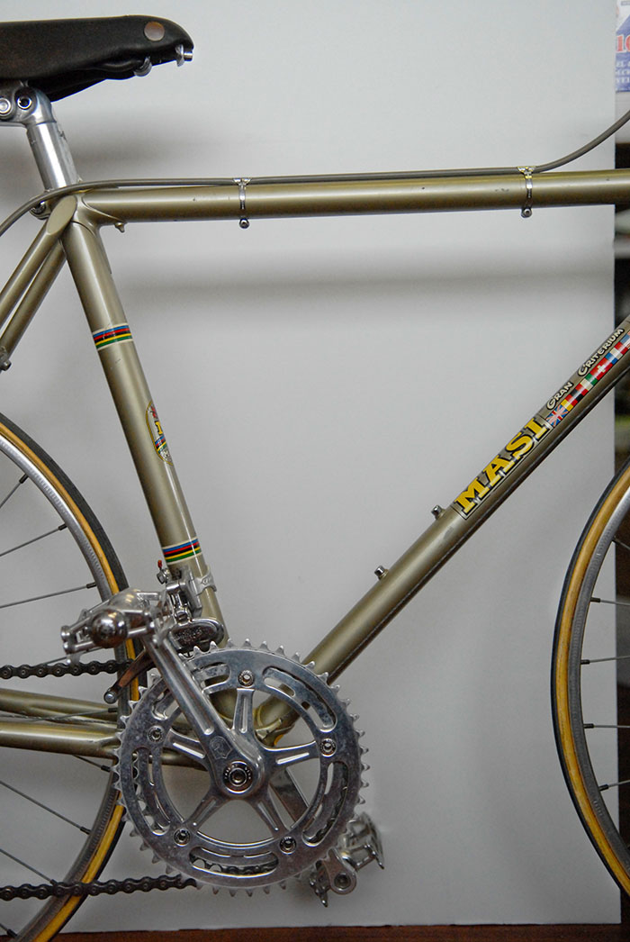 The Greg Softley Masi Special Maspes Junior bike.