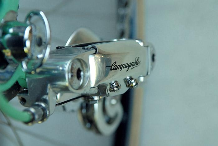 Mint Campagnolo gen 2 C Record rear derailleur.