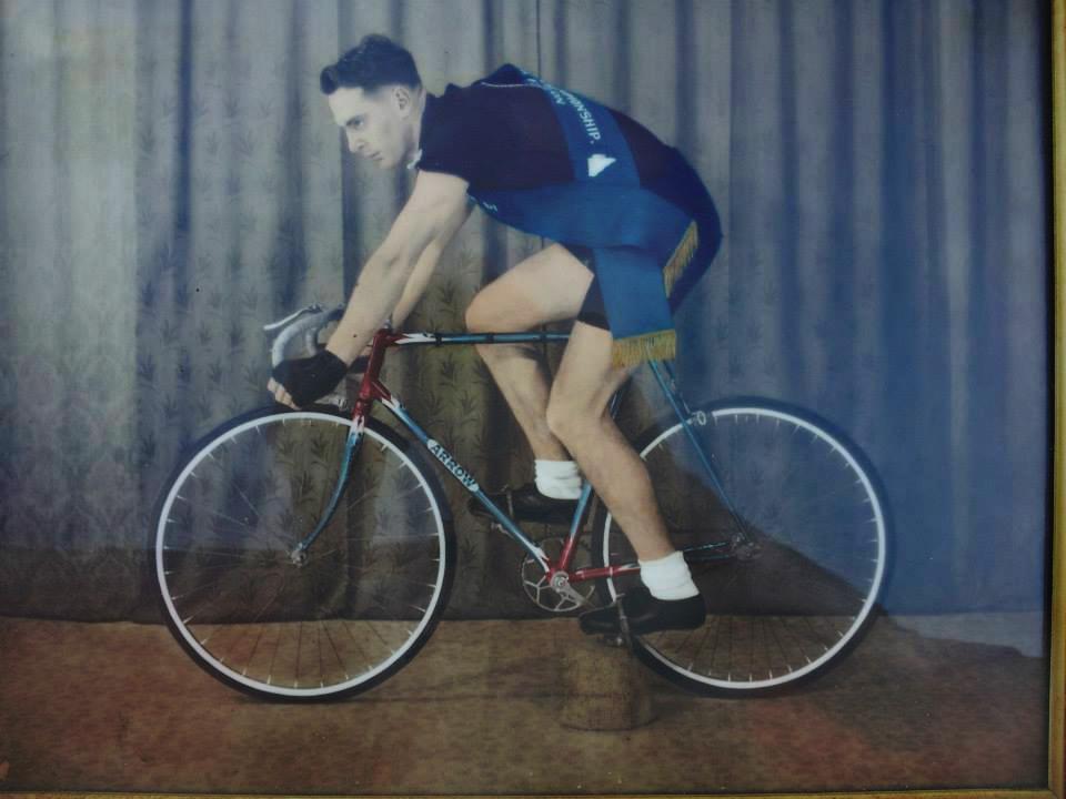 Kevin Fallon champion cyclist