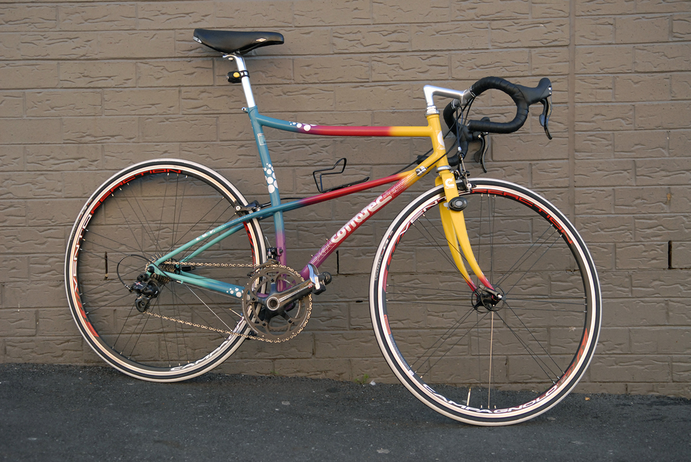 Kai's Corratec road bike