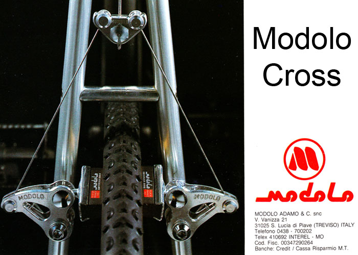 Modolo Cross for dedicated cyclo cross racers.