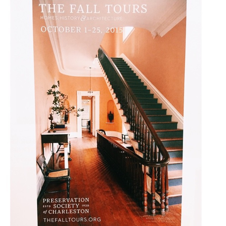 Poster for Fall Tours 2015
