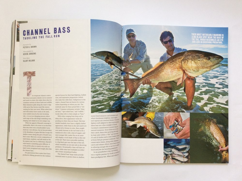 Channel Bass: Tackling the Fall Run