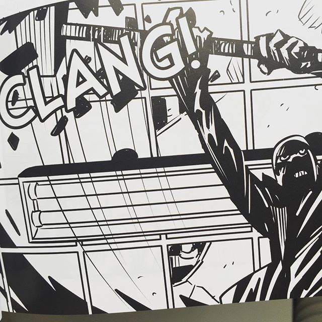 Clang! #girlfiend #romance #crime #noir #horror #vampire #thriller #cinema #composition #grondhouse #comics by #panderbros #darkhorsecomics Out now!