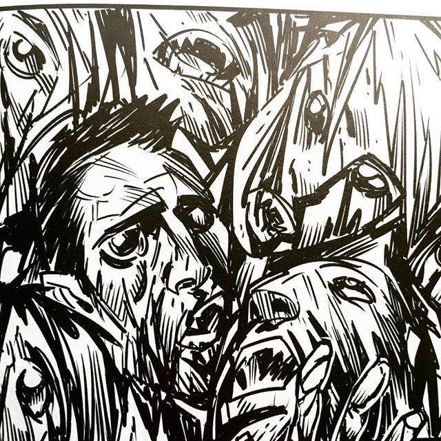 Heads will roll #girlfiend #horror #horrorfanatic #horrorjunkie #vampire #grindhouse #crime #thtiller #graphicnovel by #panderbros from #darkhorsecomics #comics #comicart #illustration #drawing #popart #art #instagood
