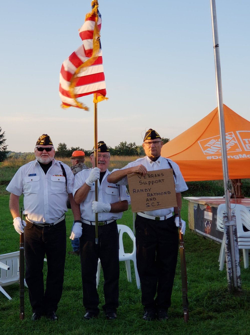Chuck Connells Tails A Wagging Veteran Hunt Honor Guard