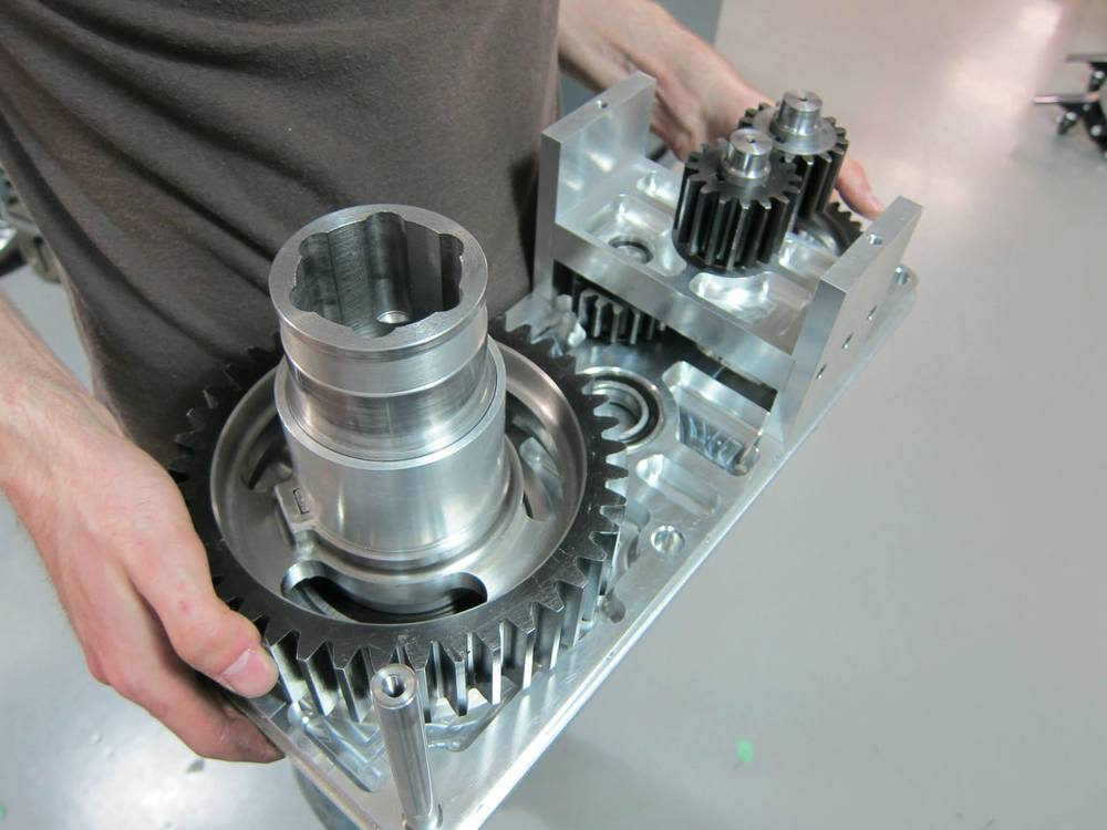 Concordia Baja SAE - Current gearbox opened.jpg