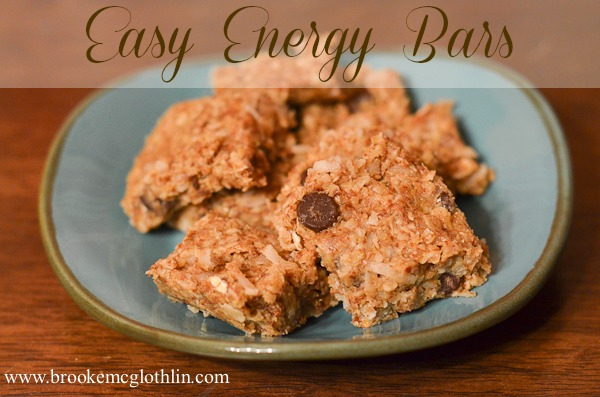 Easy Protein Bars for the Weary Mom