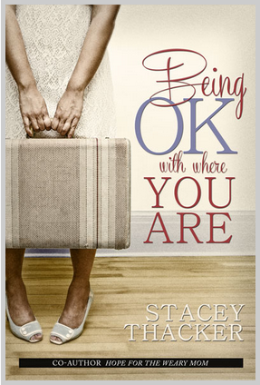 a new book by Stacey Thacker, co-author of Hope for the Weary Mom: Where God Meets You in Your Mess