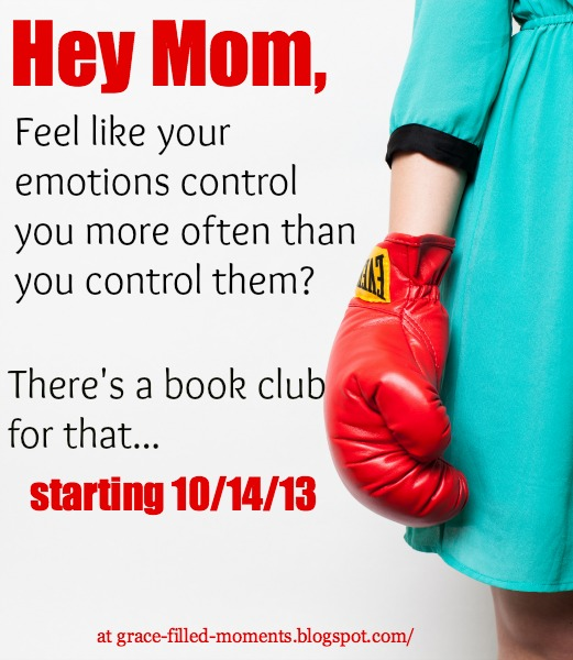 Hey mom, feel like your emotions control you more often than you control them? Join the new How to Control Your Emotions book club starting October 14th!