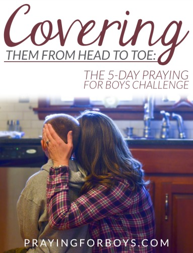 Join other mothers of boys as we cover our sons in prayer from head to toe. A challenge based on Ephesians 6, rich with the symbolism of the armor of God.