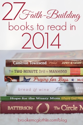 27 faith-building books to read in 2014