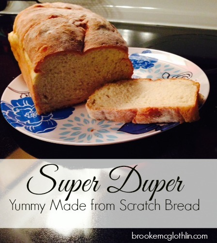 Healthy, yummy, and super easy bread machine bread! What could be better? #bread #healthy #breadmachine
