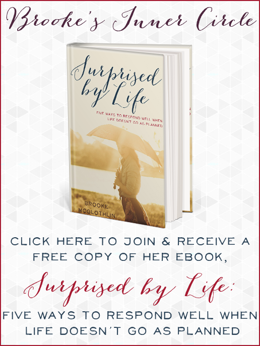 Brooke's Inner Circle — Join and receive her free eBook today!