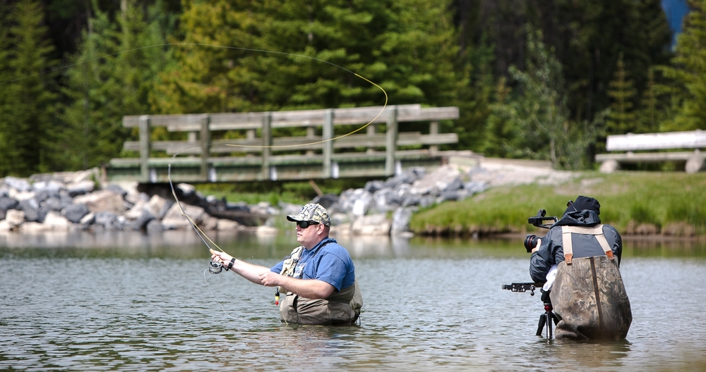 Still shot from a shoot I was doing about activities in and around Banff AB.