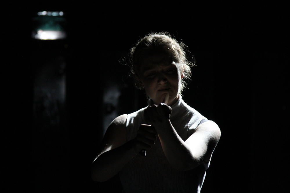 Brutus in  Julius Caesar -  LAMDA, September 2015 (photo credit Terry Smith)