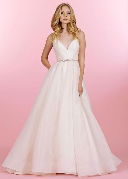 Gown:  Blush by Hayley Paige   Opal