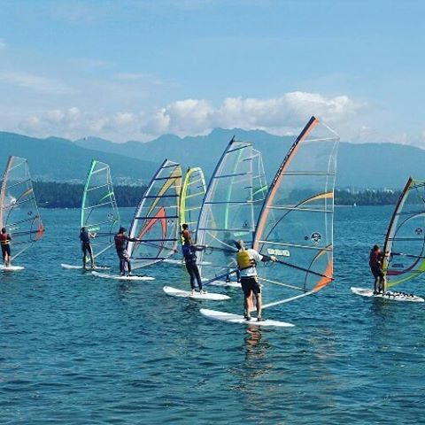 Hey #vancouver - get out on the water and try something new this week! Windsurfing lessons with Windsure Watersports at Jerico Beach are fun for all levels. Check out their website for more details: www.windsure.com #windsurfing #skimboarding #SUP #adventure #watersports #vancity  #exploreBC