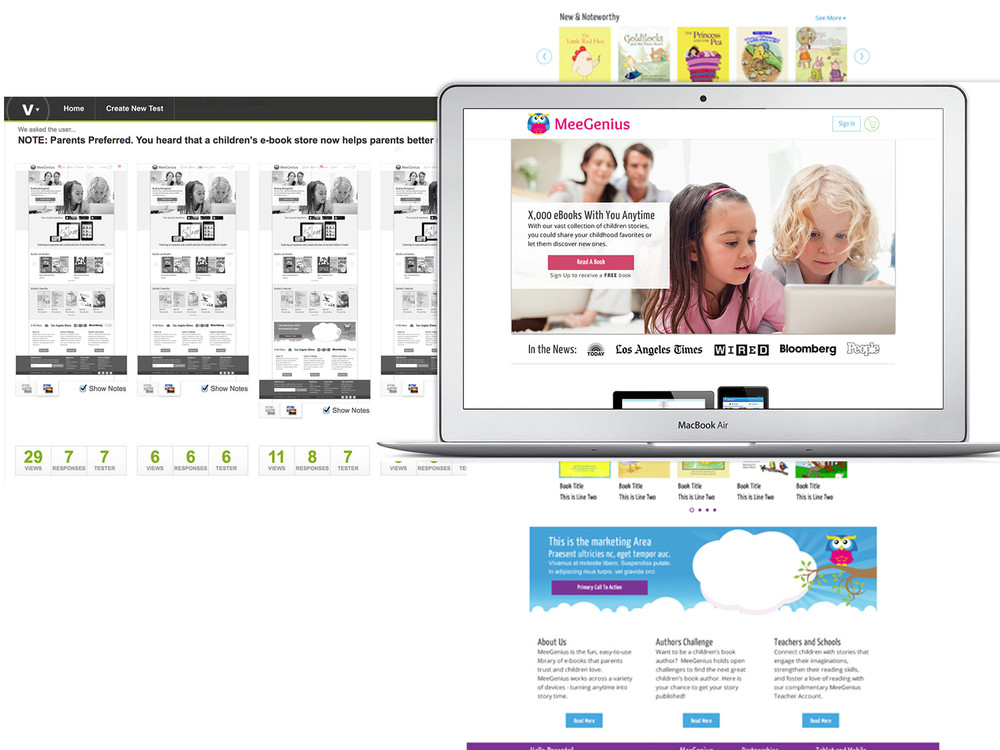 Homepage Testing