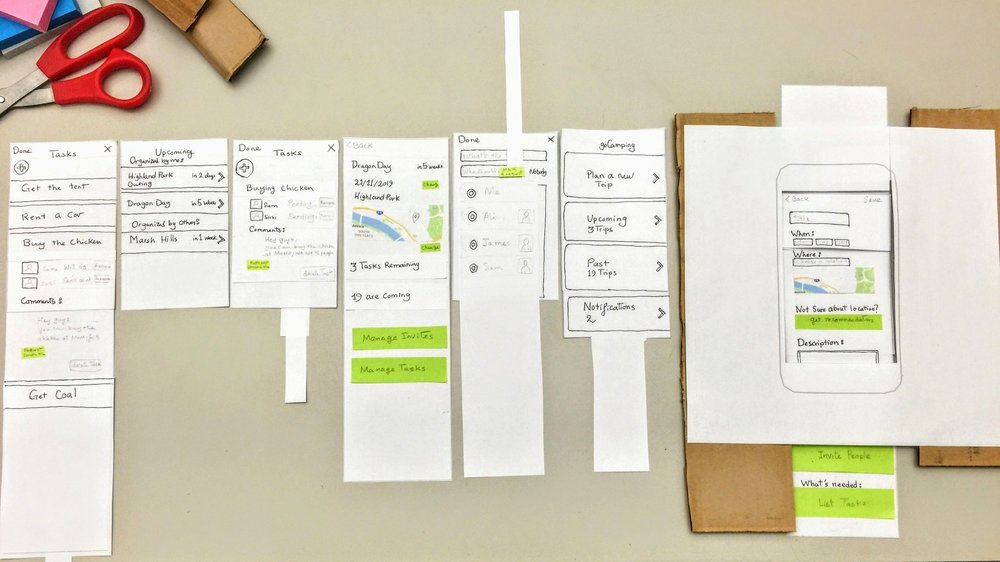 goCamping  Prototyping / Camping Coordination   Learn More →