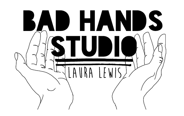 Art by Laura Lewis .com / Bad Hands Studio .com