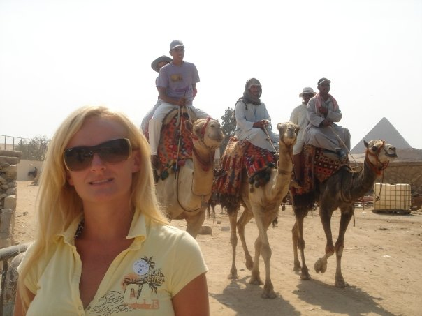 People with Sarah Keates camels.jpg