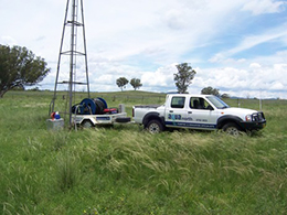 Cobbadah Station  Bore testing at Cobbadah Station, Barraba for installation of new solar pumps.