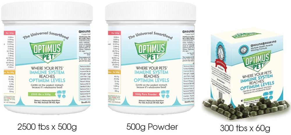 Optimus Pet® Tablets & Powder