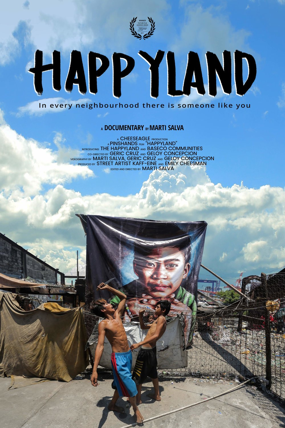 Happyland documentary poster