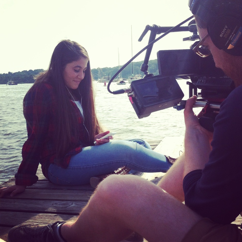 FILMING WITH FANGIRL ELIF aND CINEMATOGRAPHER ERIC LAPLANTE, LONG ISLAND, NY